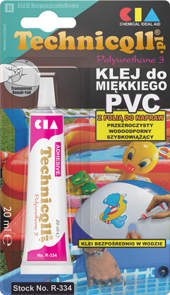 Klej do miekkiego PVC TECHNICQLL